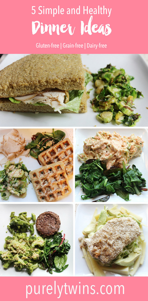 Gluten Free Dairy Free Corn Free Dinner Recipes  Our 5 go to simple and healthy dinner ideas