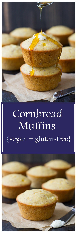 Gluten Free Dairy Free Cornbread Recipe  vegan gluten free cornbread