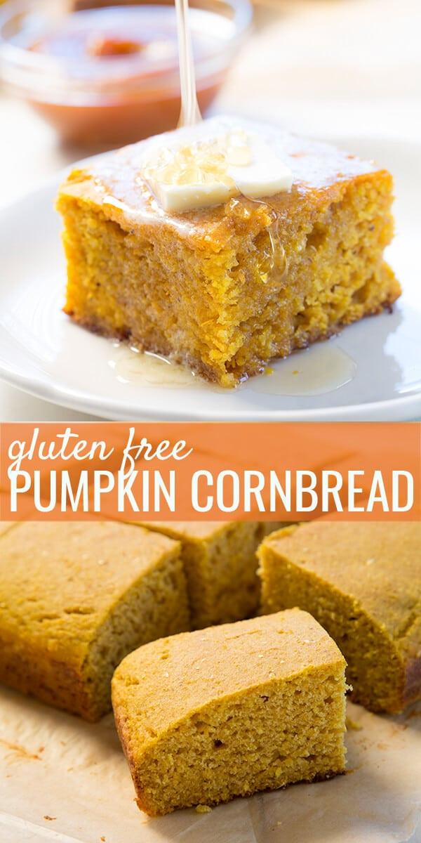 Gluten Free Dairy Free Cornbread Recipe  Gluten Free Pumpkin Cornbread ⋆ Great gluten free recipes