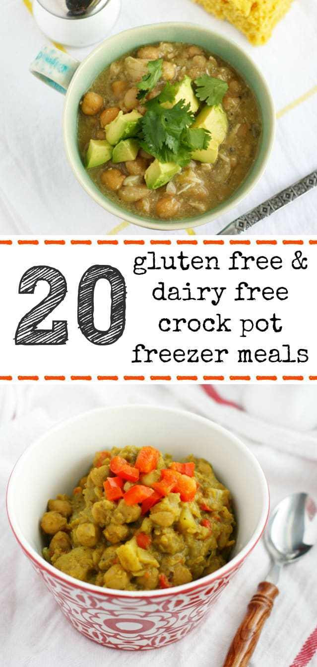 Gluten Free Dairy Free Crockpot Recipes  20 Gluten Free and Dairy Free Crock Pot Freezer Meals