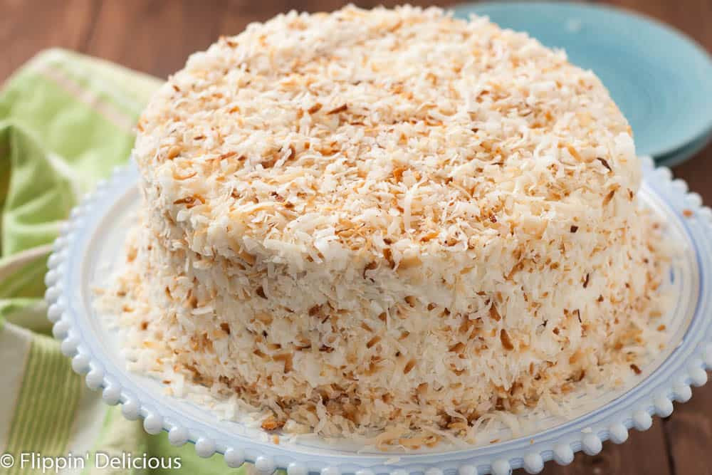 Gluten Free Dairy Free Dessert Recipes  Dairy Free Gluten Free Coconut Layer Cake
