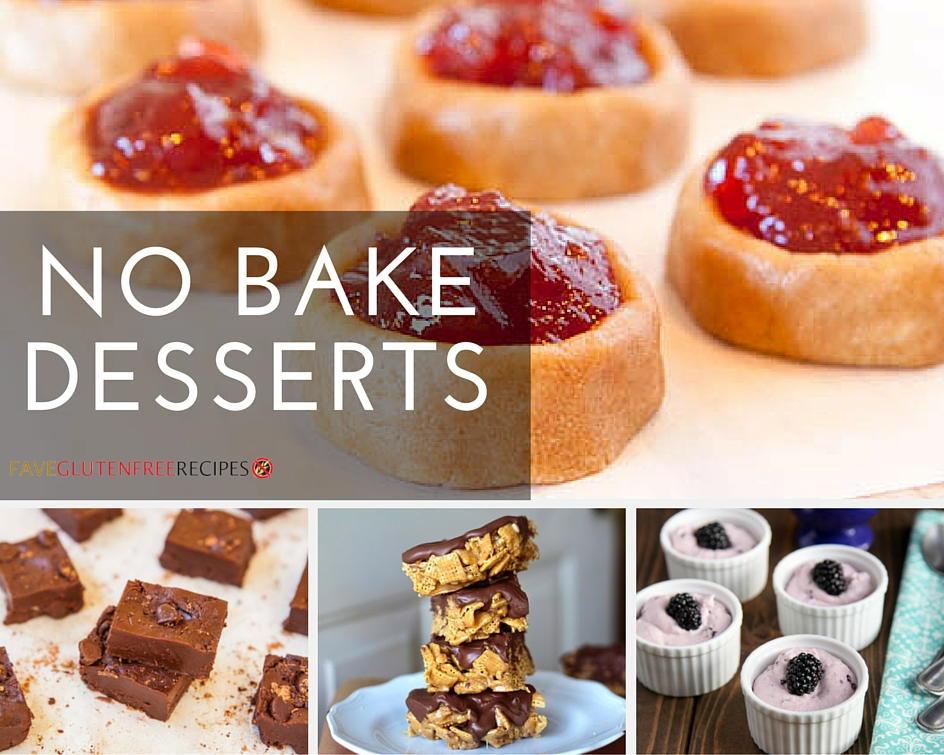 Gluten Free Dairy Free Dessert Recipes  Gluten Free Desserts Best No Bake Recipes