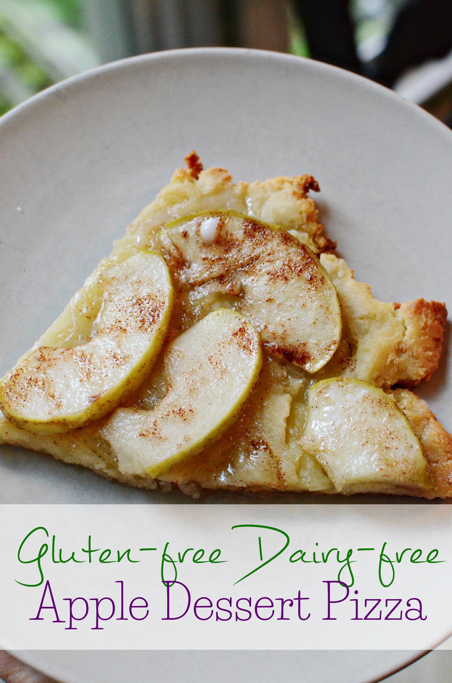 Gluten Free Dairy Free Desserts To Buy  Gluten Free Dairy Free Apple Dessert Pizza