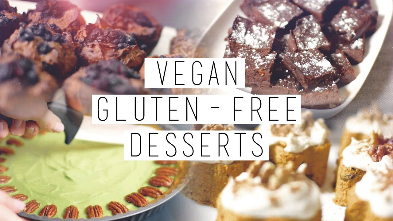 Gluten Free Dairy Free Desserts To Buy  4 Gluten Free Vegan Healthy Desserts Brownies Carrot