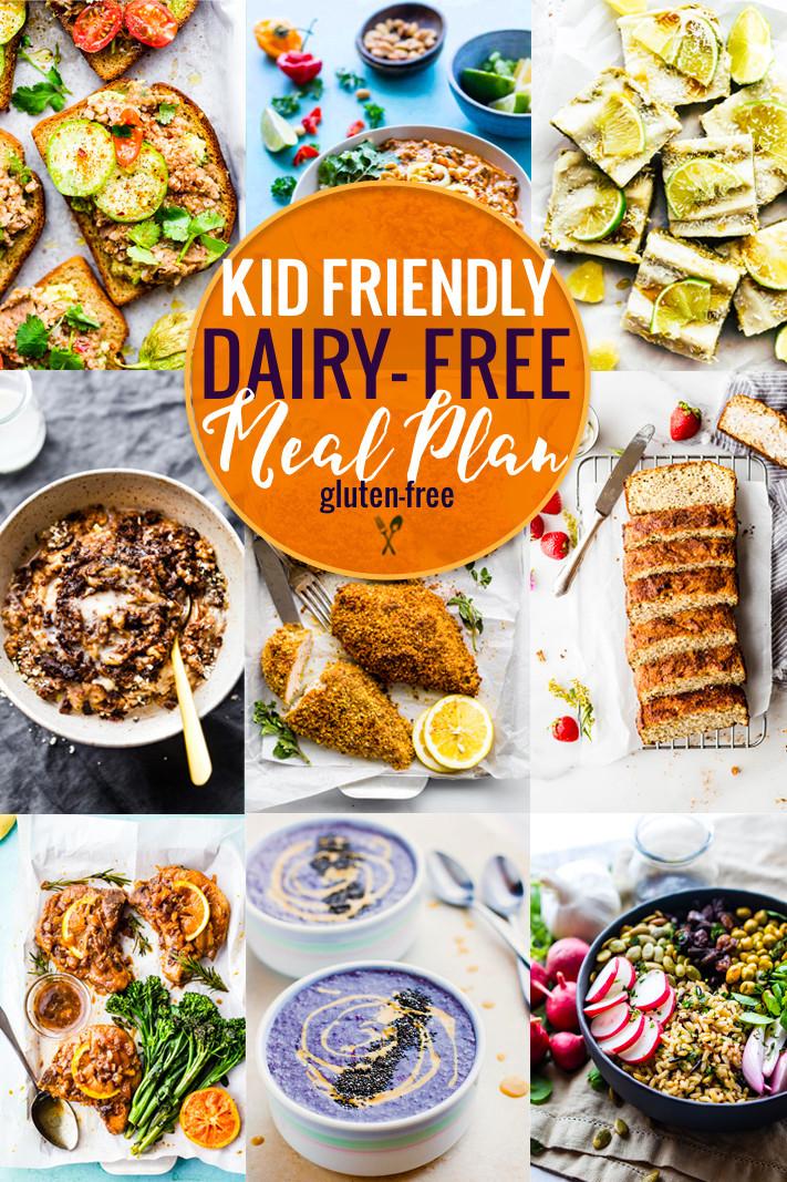 Gluten Free Dairy Free Dinner Recipes  Kid Friendly Dairy Free Meal Plan