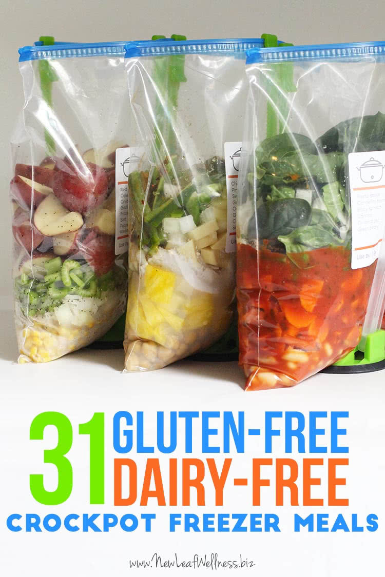 Gluten Free Dairy Free Dinner Recipes  31 Gluten Free Dairy Free Crockpot Freezer Meals