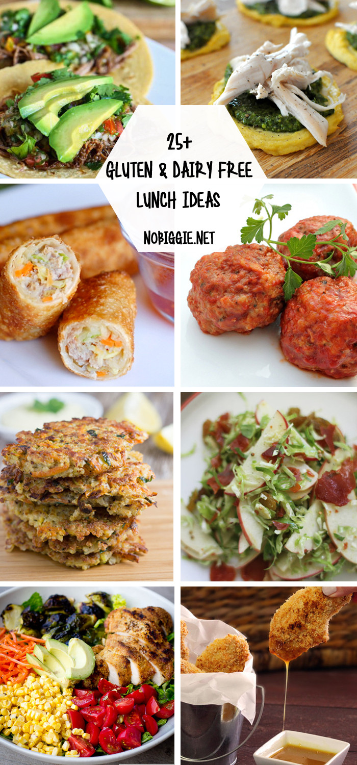 Gluten Free Dairy Free Dinner Recipes  25 Gluten Free and Dairy Free Lunch Ideas