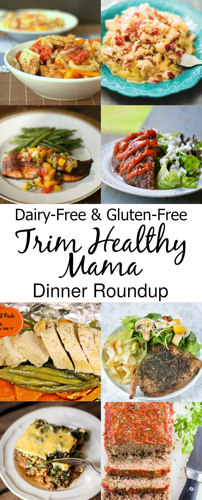 Gluten Free Dairy Free Dinner Recipes  Dairy Free and Gluten Free Trim Healthy Mama Dinners