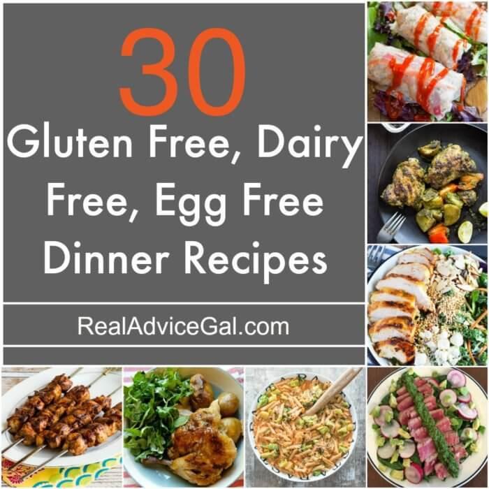 Gluten Free Dairy Free Dinner Recipes  Gluten Free Dairy Free Egg Free Recipes Madame Deals