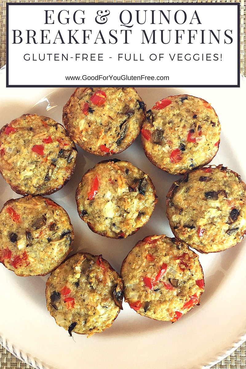 Gluten Free Dairy Free Egg Free Recipes Breakfast  Gluten Free Egg & Quinoa Breakfast Muffins