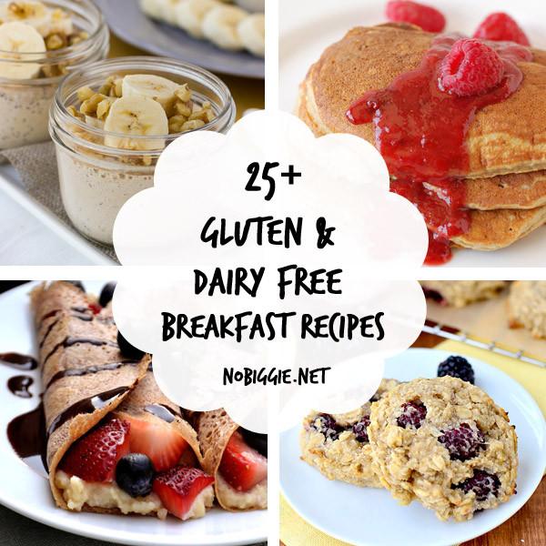Gluten Free Dairy Free Egg Free Recipes Breakfast  25 Gluten Free and Dairy Free Breakfast Recipes
