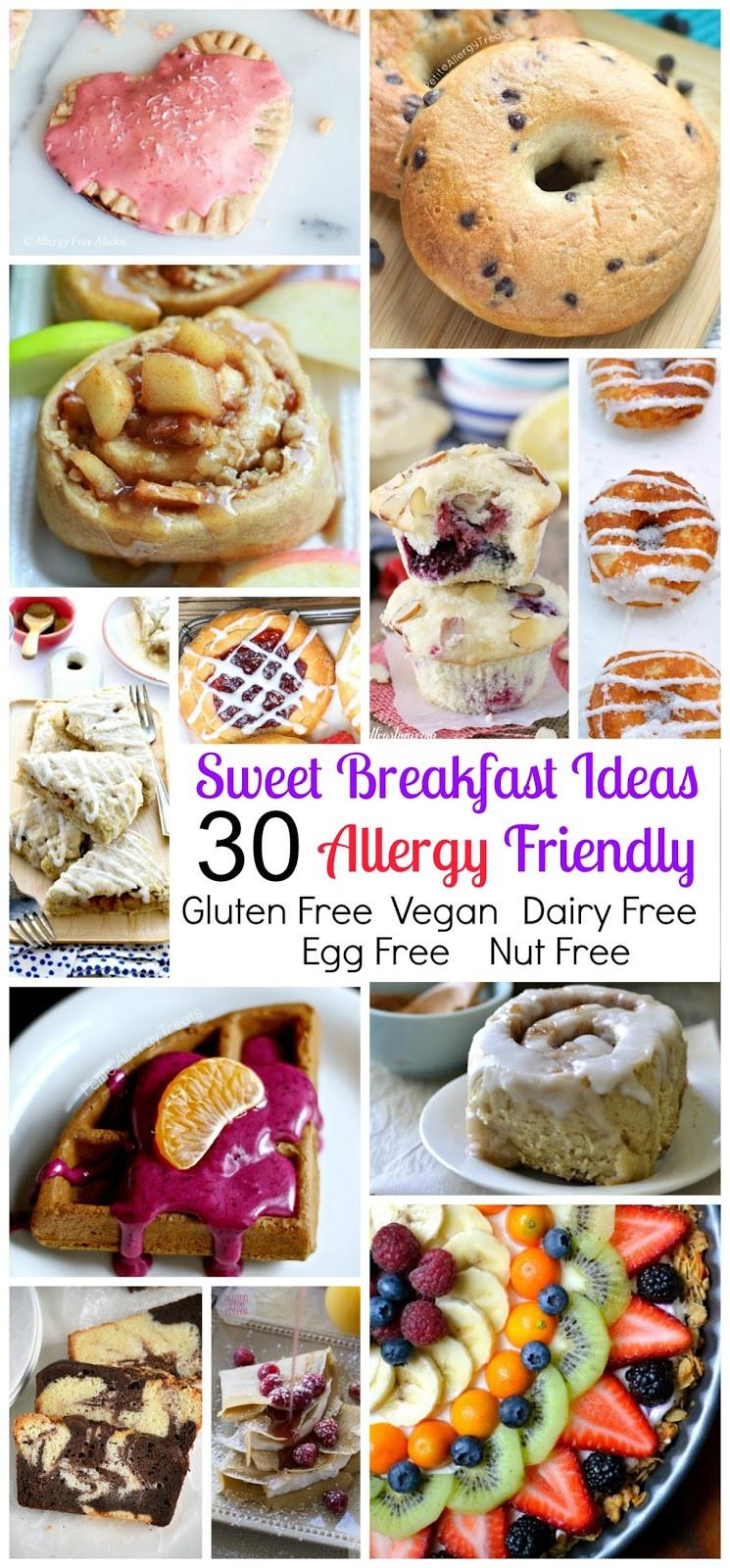 Gluten Free Dairy Free Egg Free Recipes Breakfast  Allergy Friendly Gluten Free Sweet Breakfast Treat Round