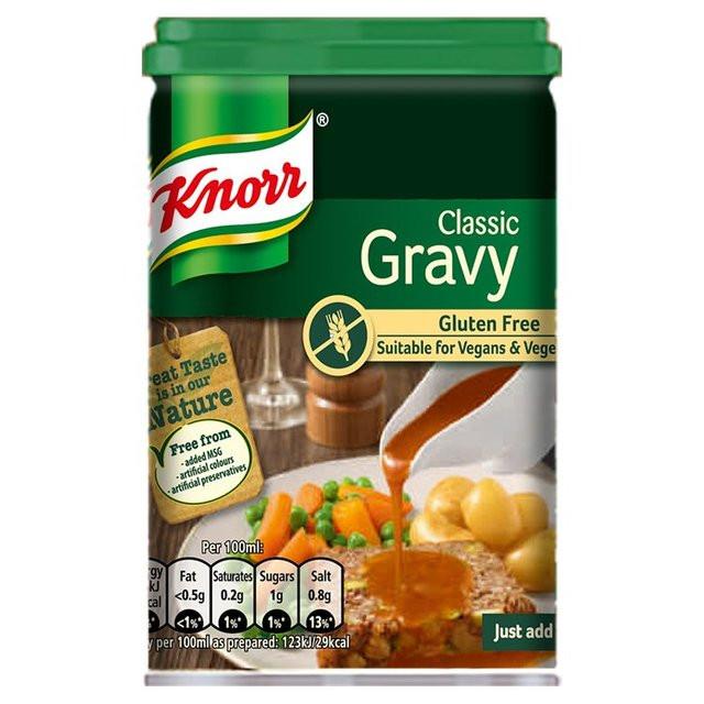 Gluten Free Dairy Free Gravy  Knorr Gluten Free Gravy 175g from Ocado