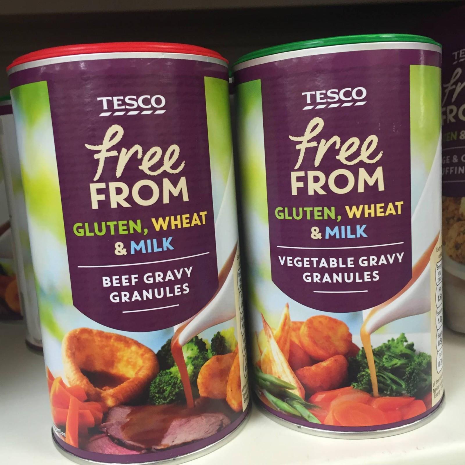 Gluten Free Dairy Free Gravy  UPDATED Gluten Free Christmas Tesco 2016 What Gluten Free