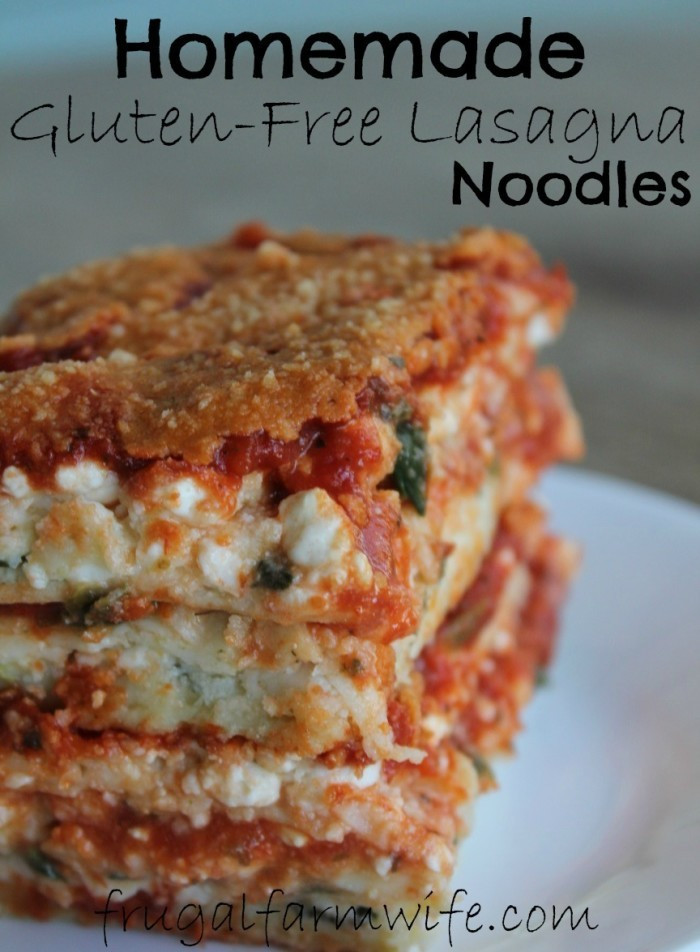Gluten Free Dairy Free Lasagna  Gluten Free Lasagna Recipe — Dishmaps