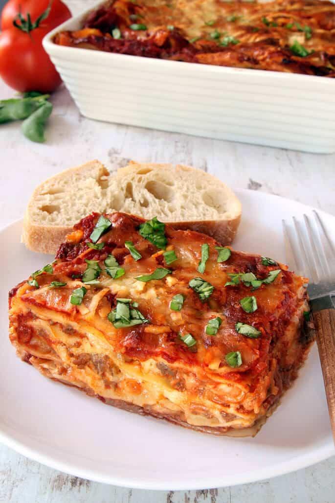 Gluten Free Dairy Free Lasagna  Gluten Free Lasagna ⋆ Great gluten free recipes for every