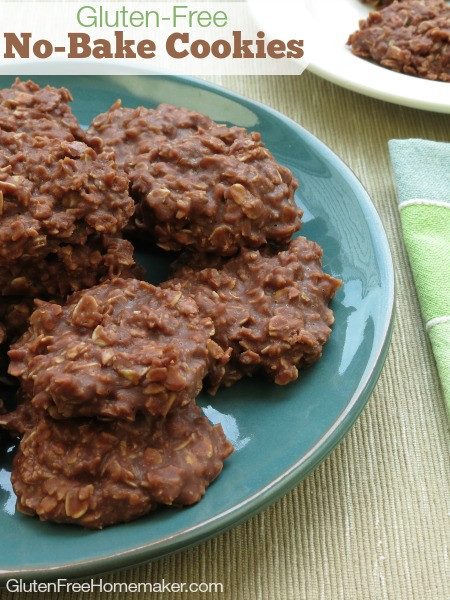 Gluten Free Dairy Free No Bake Cookies  Gluten Free Oatmeal Cookie Recipes Over 60 of Them