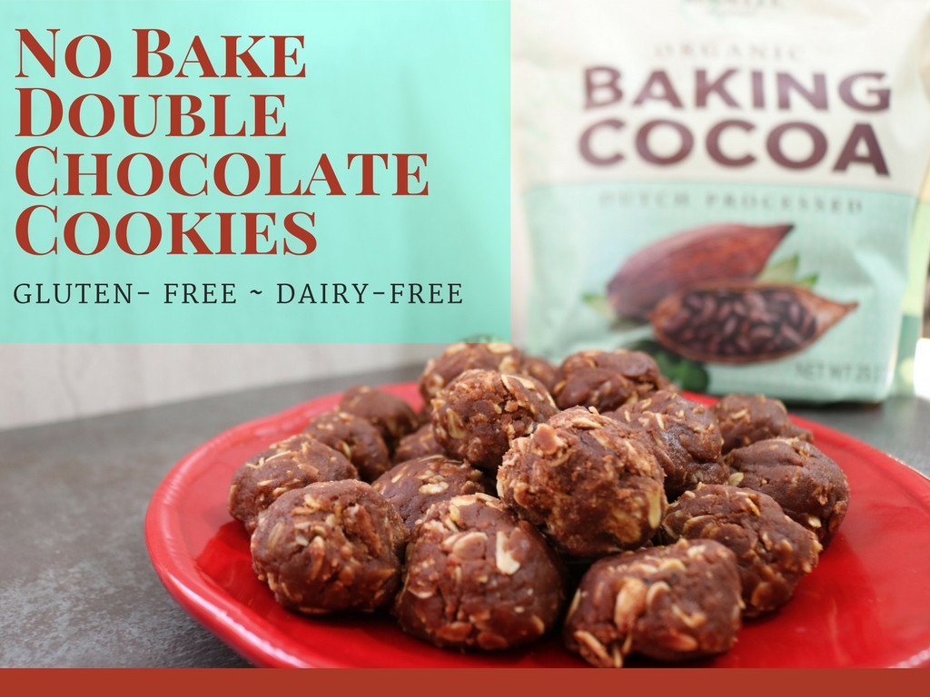 Gluten Free Dairy Free No Bake Cookies  Double Chocolate No Bake Cookies For Valentine s Day