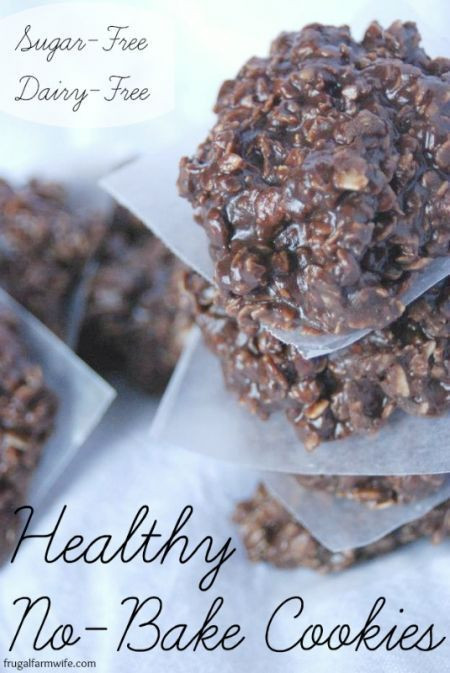 Gluten Free Dairy Free No Bake Cookies  Healthy No Bake Cookies