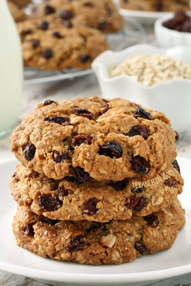 Gluten Free Dairy Free Oatmeal Cookies  Gluten free Oatmeal Cookies dairy free Texanerin Baking