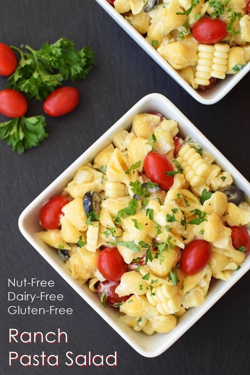 Gluten Free Dairy Free Pasta Recipes  Dairy Free Ranch Pasta Salad Recipe