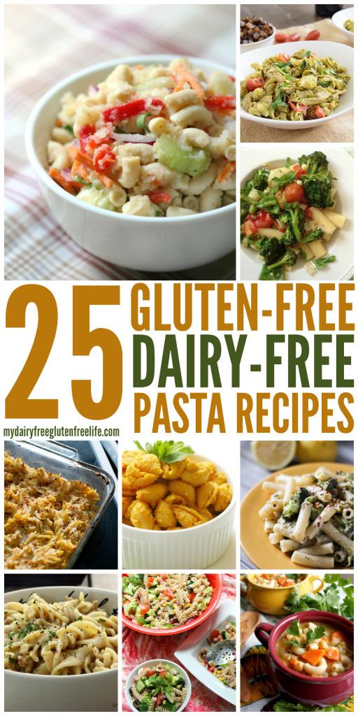 Gluten Free Dairy Free Pasta Recipes  Gluten Free Pasta Dishes dairyfree My DairyFree