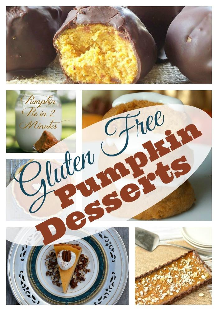 Gluten Free Dairy Free Pumpkin Desserts  Gluten Free Pumpkin Desserts for Thanksgiving Pinterest