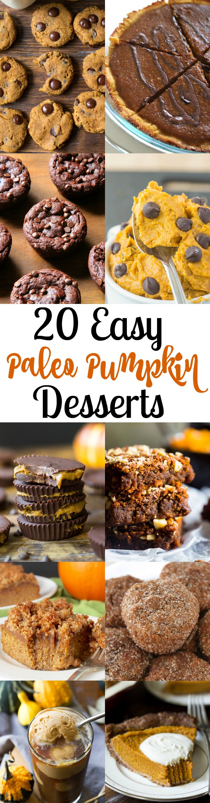 Gluten Free Dairy Free Pumpkin Desserts  20 Easy Paleo Pumpkin Desserts