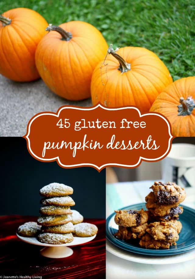Gluten Free Dairy Free Pumpkin Desserts  45 Gluten Free Pumpkin Desserts The Pretty Bee