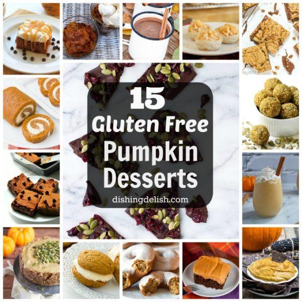 Gluten Free Dairy Free Pumpkin Desserts  desserts Archives Dishing Delish