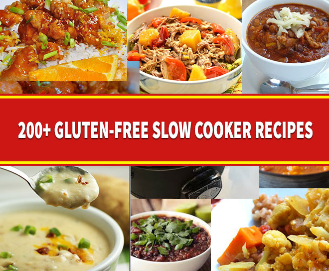 Gluten Free Dairy Free Slow Cooker Recipes  200 Gluten Free Slow Cooker Recipes Fork f Gluten