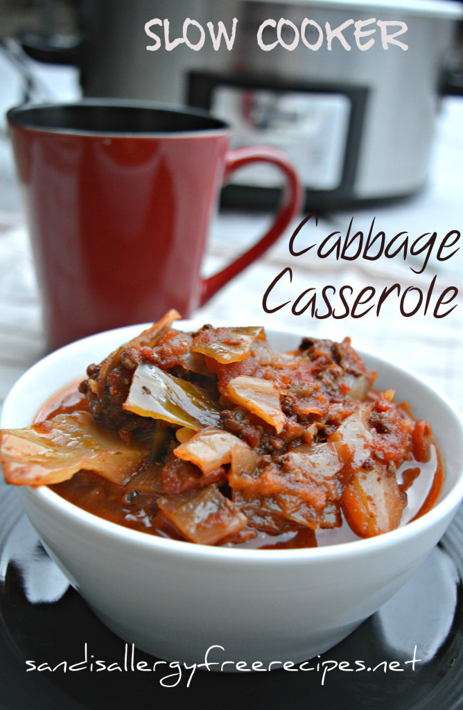 Gluten Free Dairy Free Slow Cooker Recipes  Slow Cooker Cabbage Casserole Paleo Gluten Free Dairy