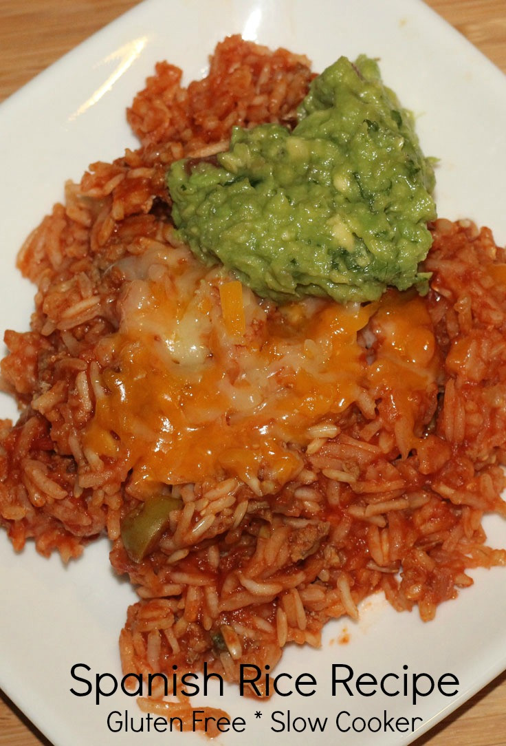 Gluten Free Dairy Free Slow Cooker Recipes  Gluten free slow cooker recipe Spanish Rice