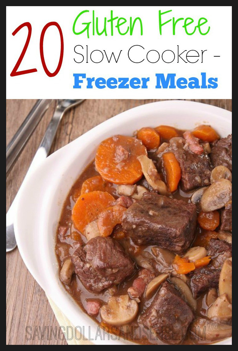 Gluten Free Dairy Free Slow Cooker Recipes  Gluten Free Slow Cooker Freezer Meal Plan Saving Dollars