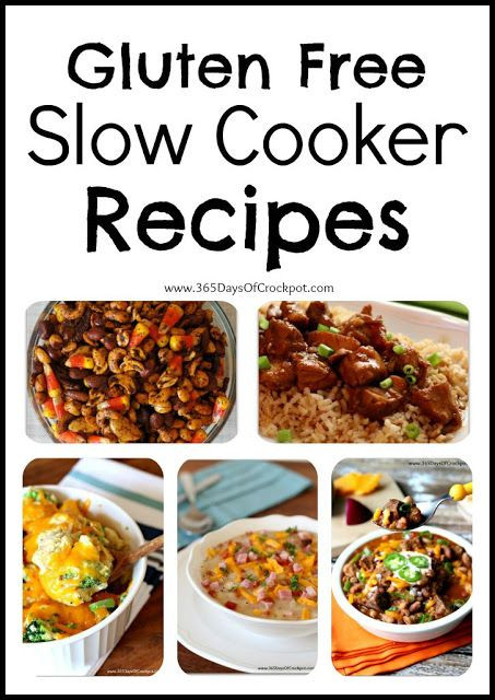 Gluten Free Dairy Free Slow Cooker Recipes  Pinterest • The world's catalog of ideas