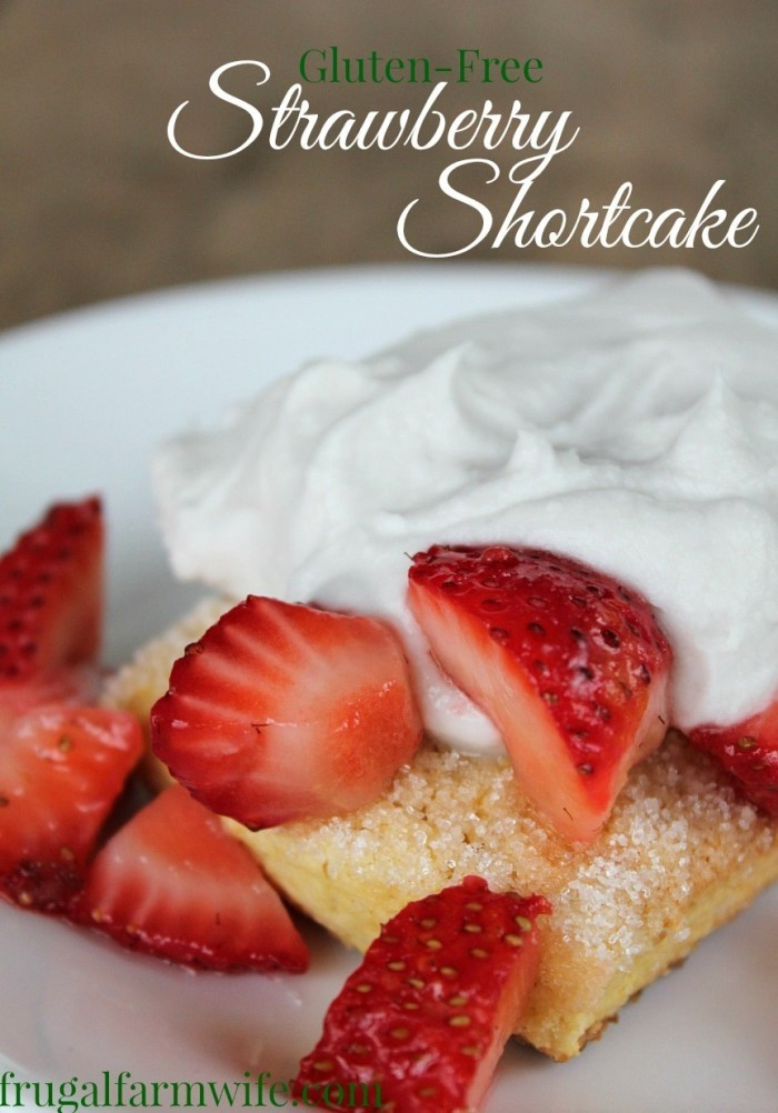 Gluten Free Dairy Free Strawberry Shortcake  Gluten Free Strawberry Shortcake