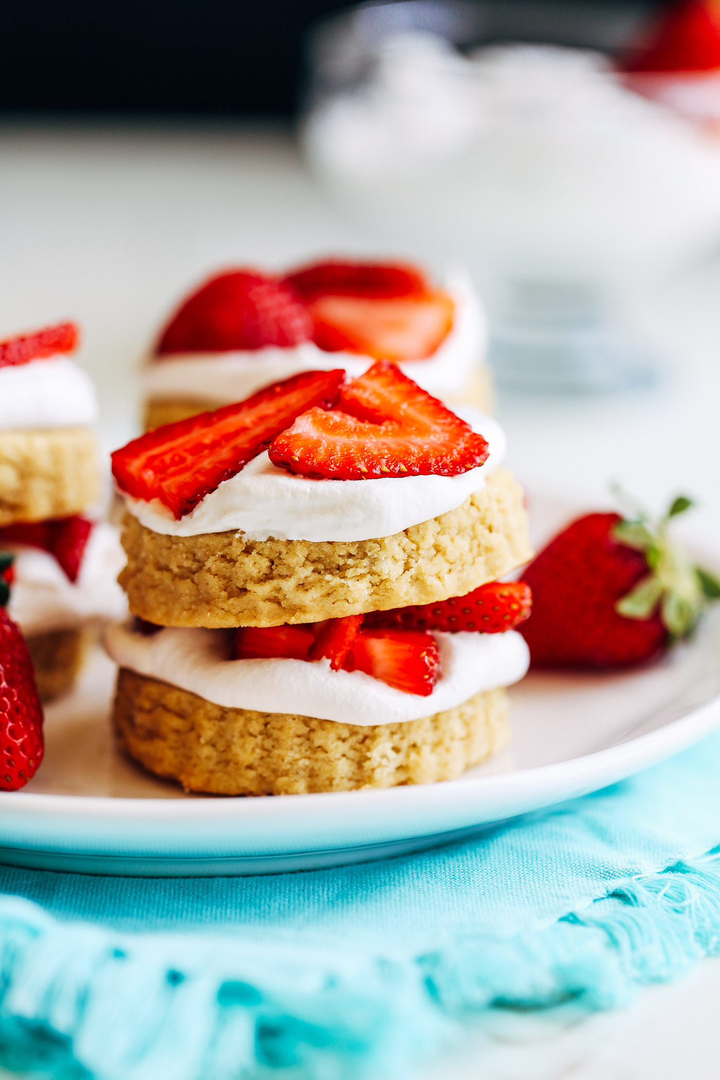 Gluten Free Dairy Free Strawberry Shortcake  Vegan Gluten free Strawberry Shortcakes Making Thyme for