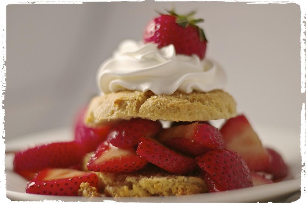 """Gluten Free Dairy Free Strawberry Shortcake  Gluten Free Strawberry Shortcake What the """"Forks"""" for Dinner"""
