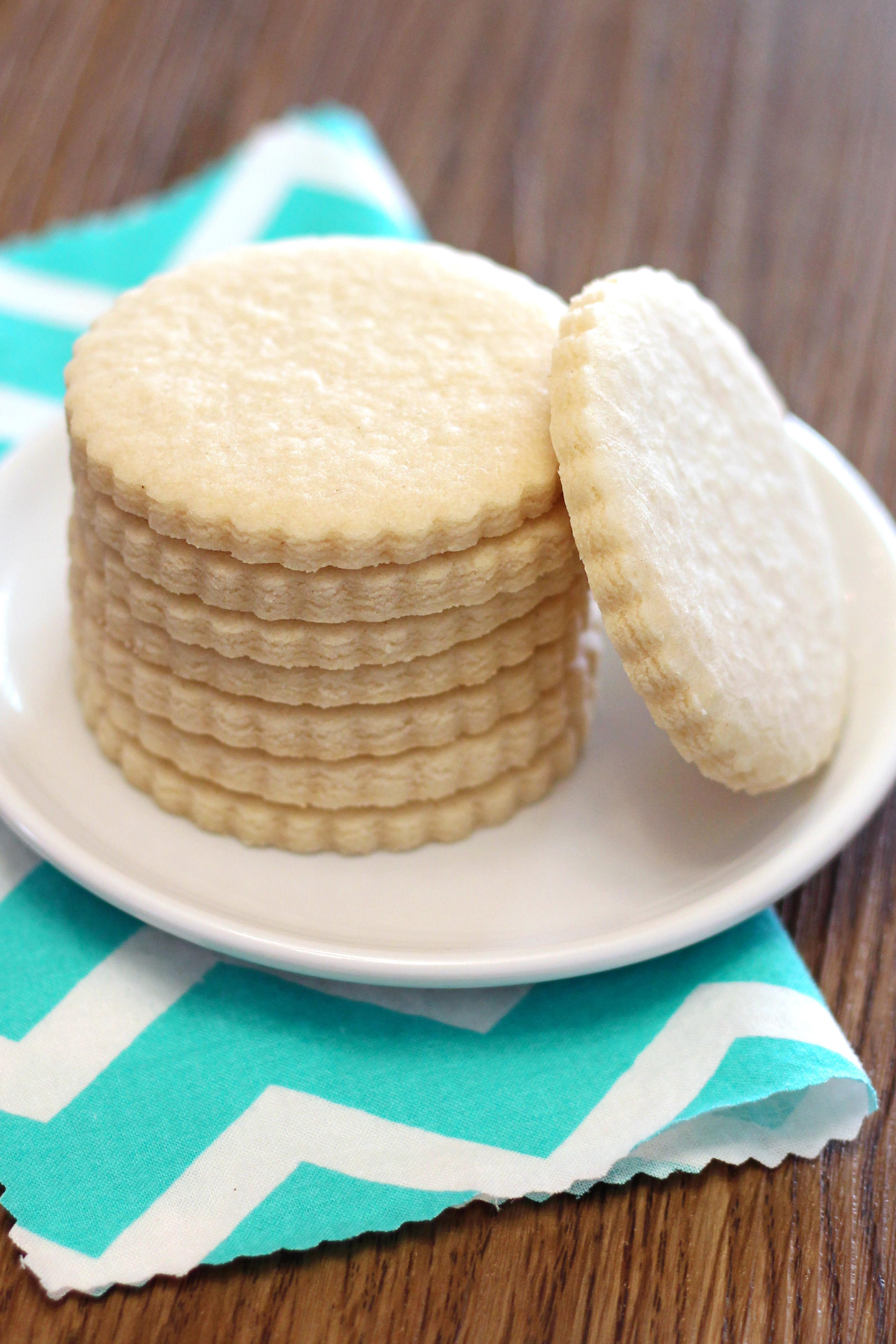 Gluten Free Dairy Free Sugar Cookies  gluten free vegan sugar cookies Sarah Bakes Gluten Free