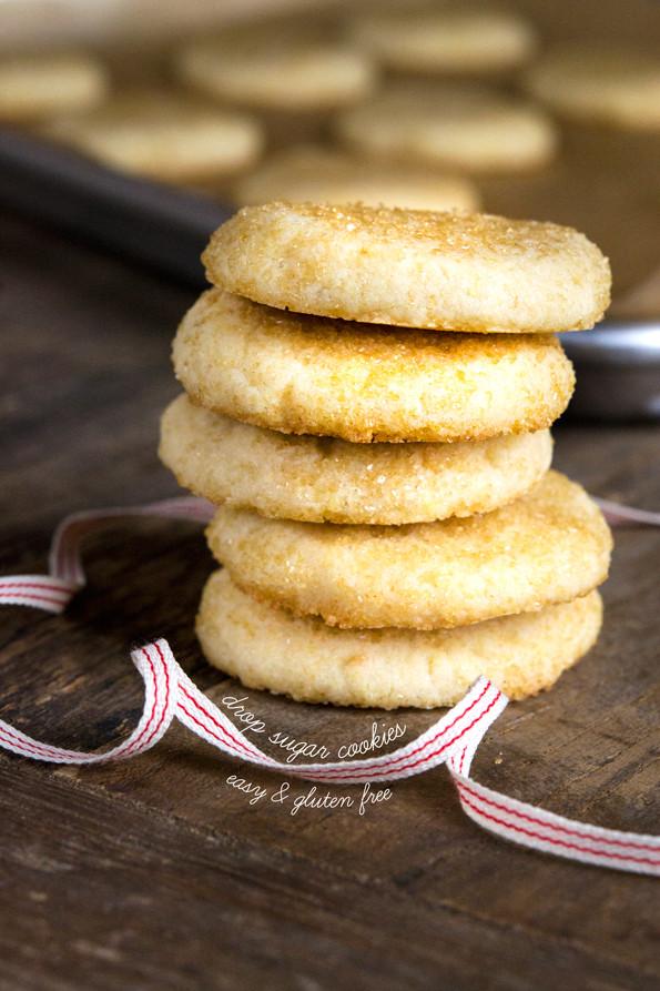 Gluten Free Dairy Free Sugar Cookies  Gluten Free Drop Sugar Cookies ⋆ Great gluten free recipes
