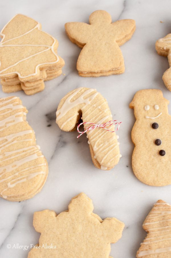 Gluten Free Dairy Free Sugar Cookies  1000 images about Gluten Free Christmas Cookie Recipes on
