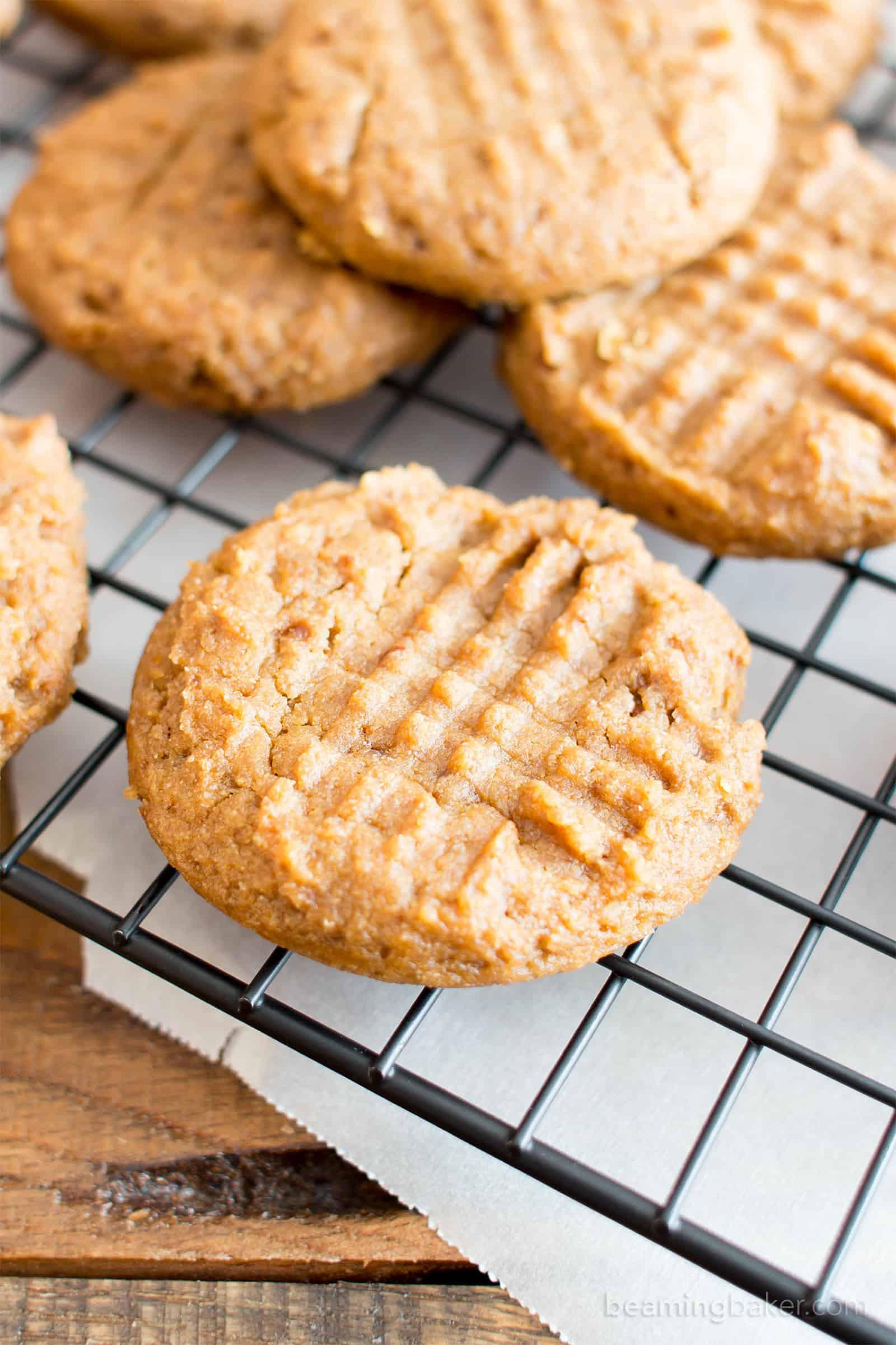Gluten Free Dairy Free Sugar Cookies  Easy Gluten Free Peanut Butter Cookies Vegan GF Dairy