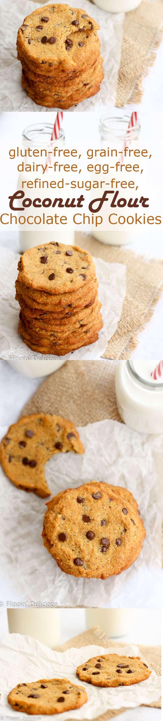 Gluten Free Dairy Free Sugar Free Cookies  gluten free sugar free coconut cookies