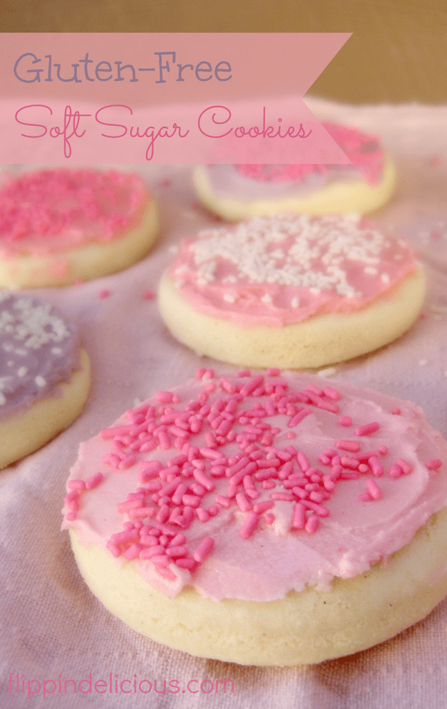 Gluten Free Dairy Free Sugar Free Cookies  Gluten Free Soft Frosted Sugar Cookies
