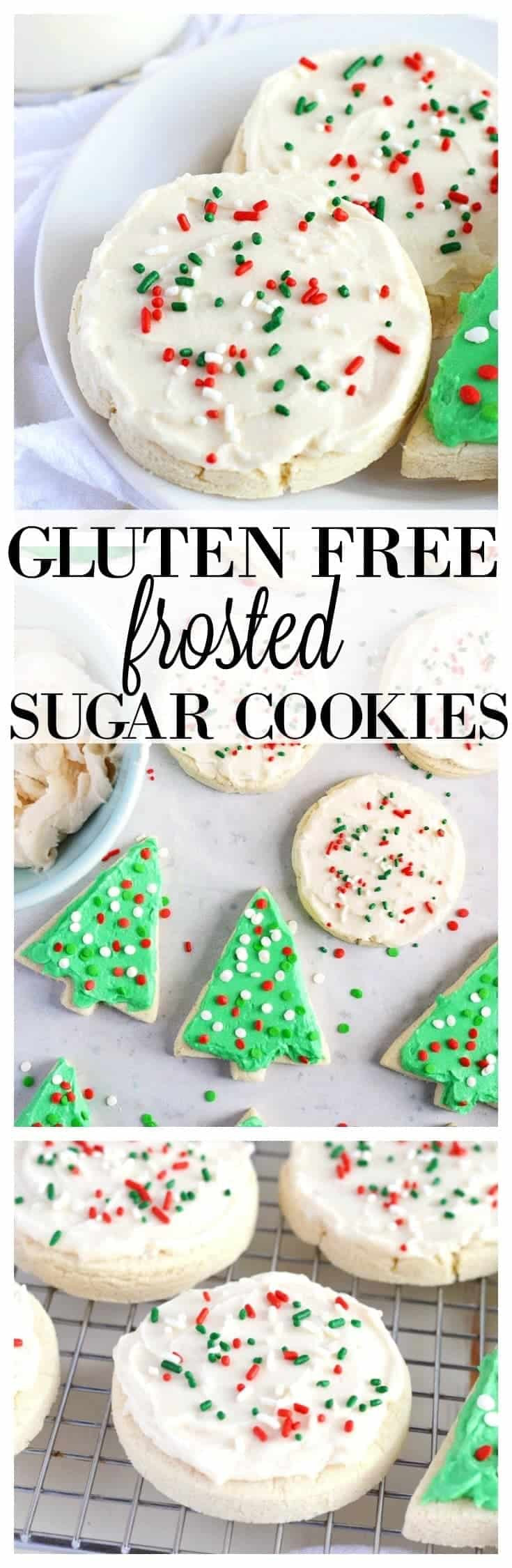 Gluten Free Dairy Free Sugar Free Cookies  Gluten Free Soft Frosted Sugar Cookies What the Fork