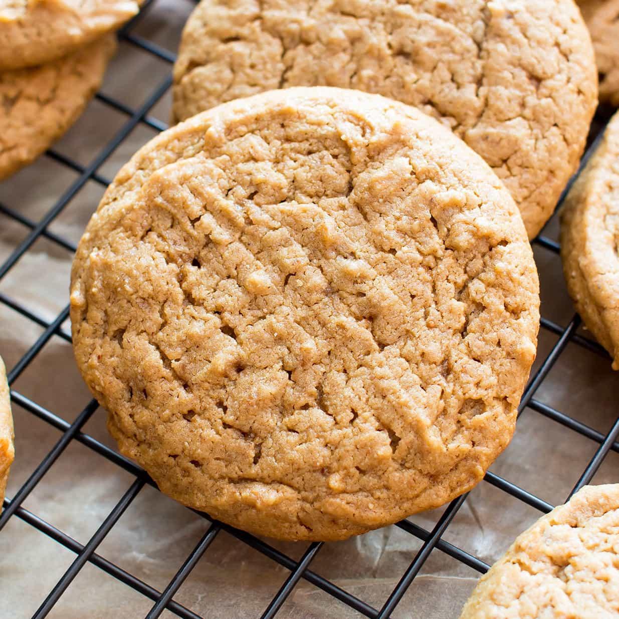 Gluten Free Dairy Free Sugar Free Cookies  Easy Vegan Peanut Butter Cookies Gluten Free Healthy V