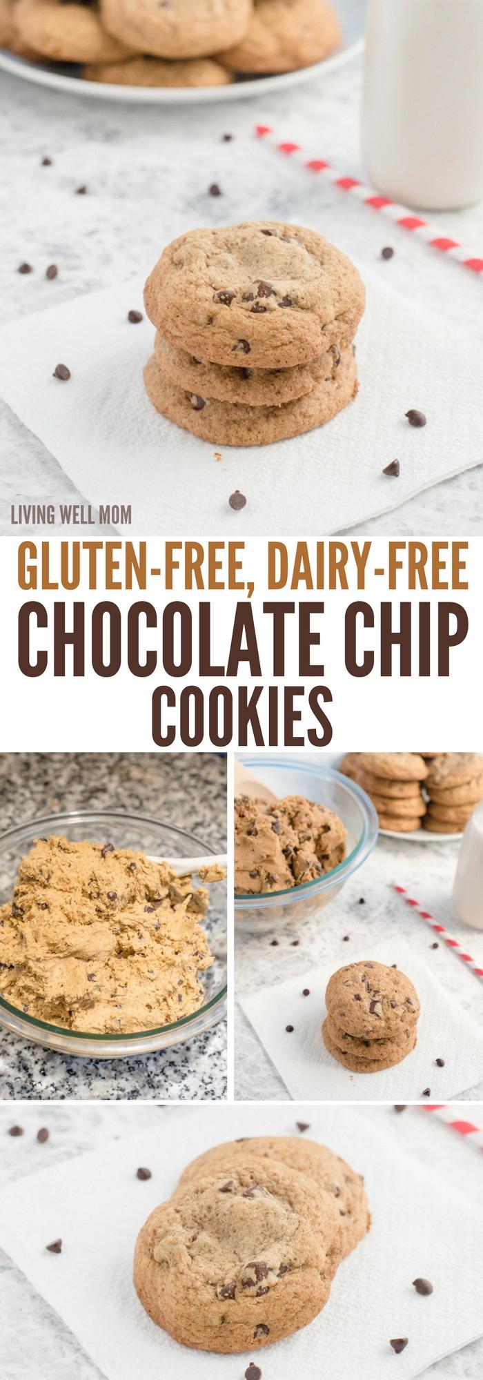 Gluten Free Dairy Free Sugar Free Cookies  Gluten Free Dairy Free Chocolate Chip Cookies