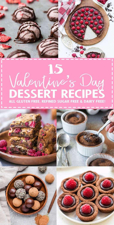 Gluten Free Dairy Free Sugar Free Dessert Recipes  Valentine s Day Dessert Recipe Roundup All Gluten Free