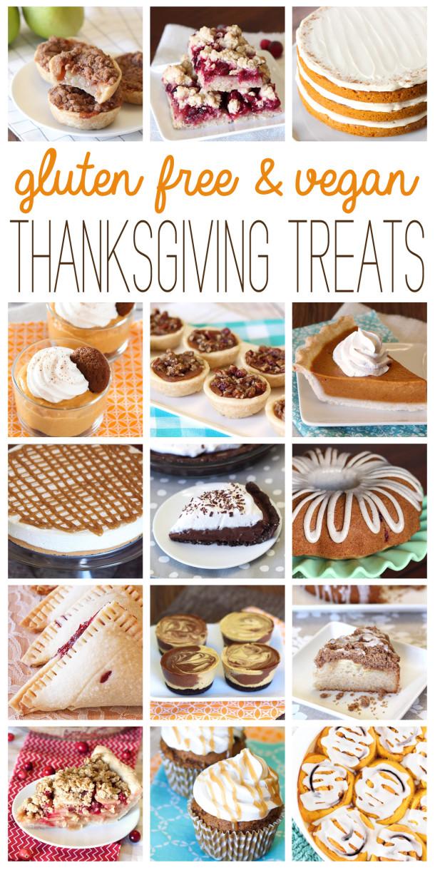 Gluten Free Dairy Free Thanksgiving  gluten free & vegan thanksgiving treats Sarah Bakes