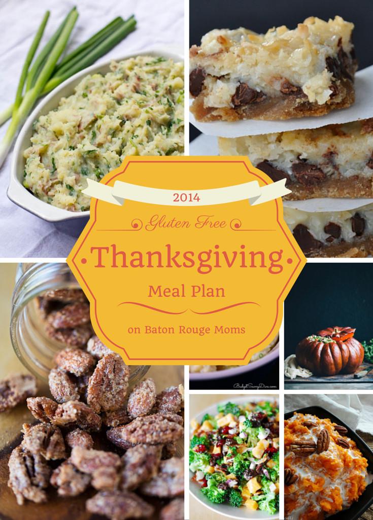 Gluten Free Dairy Free Thanksgiving  Gluten Free Thanksgiving Meal Plan know gluten